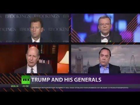 Patrick Henningsen on CrossTalk Debating 'Trump & His Generals'