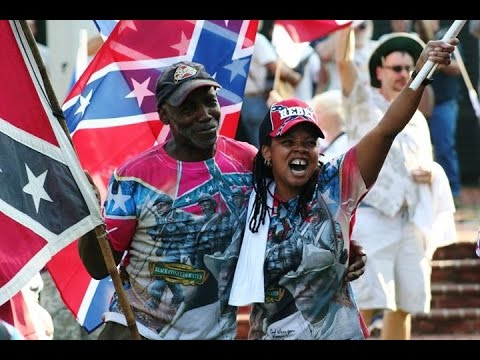 """Proud Black Confederates on the Confederate Flag - """"Dont take Our History Away"""""""