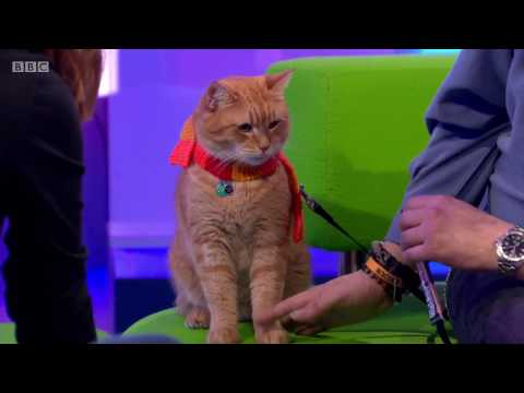 The One Show with James Bowen and his 'StreetCat' named Bob !  - 24th Oct 2016