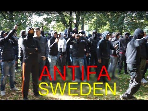 """Antifa shouting """"ALLAH AKHBAR"""""""