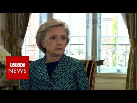 Clinton on Weinstein: Trump An Admitted Sexual Assaulter - BBC News