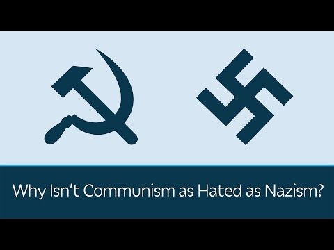 Why Isn't Communism as Hated as Nazism?