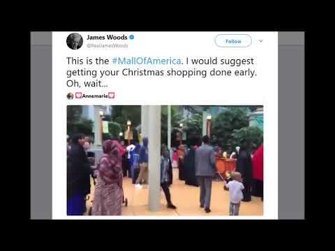 """James Woods: """"This is the Mall Of America"""""""