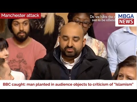 VIDEO : BBC planted a fake audience member to push a narrative