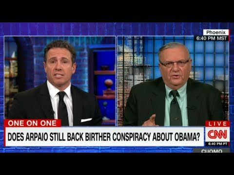 Sheriff Joe Arpaio CNN HEATED Interview TAUNTED by Chris Cuomo 1/10/18