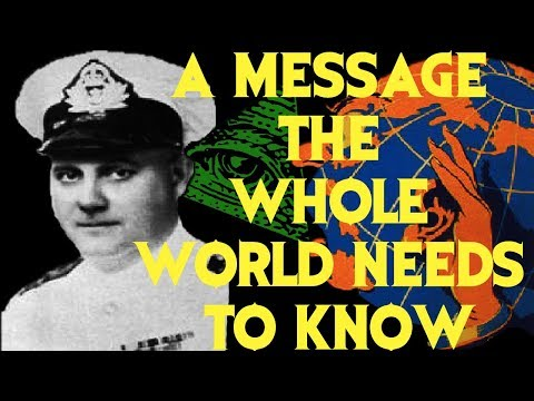 *CHILLING* 1958 Message From A Royal Canadian Naval Officer
