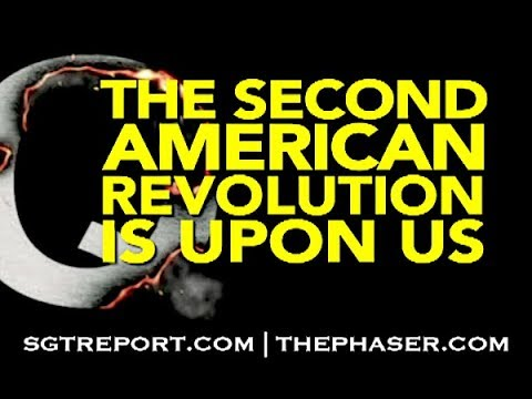 Q: The Second American Revolution is Upon Us