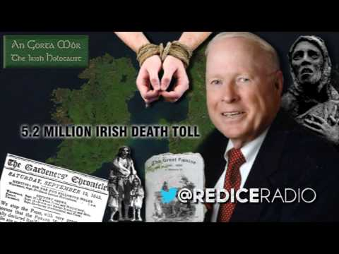 Red Ice Radio - Chris Fogarty - The Irish Holocaust