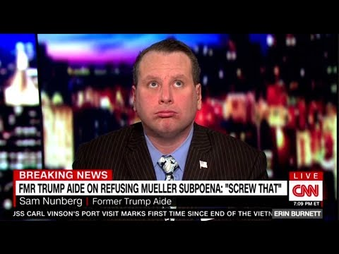 Sam Nunberg  B1ZARRE Interview Erin Burnett - ( Breaking News 3/5/2018)
