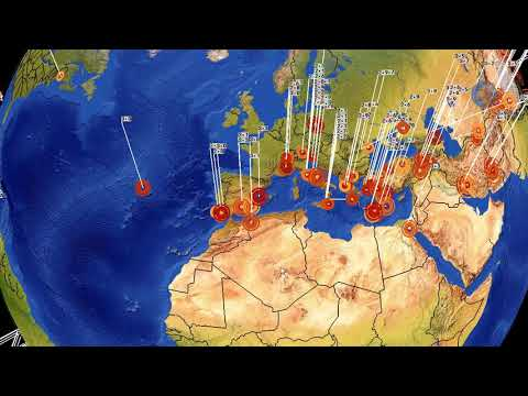 Earthquake Forecast 1-4 April 2018