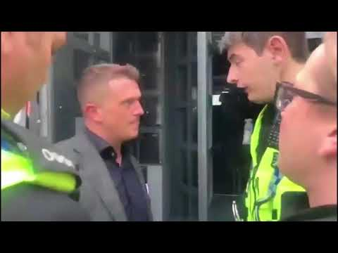 Tommy Robinson Arrested (May 25, 2018)