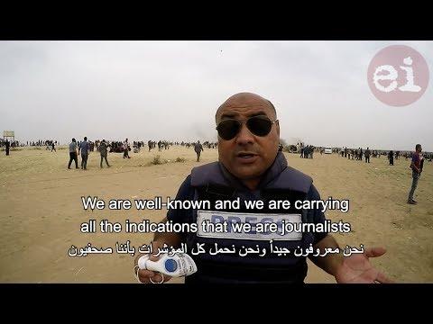 Israel targets journalists in Gaza