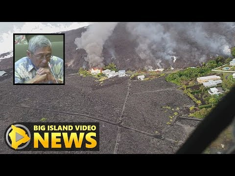 After Lava Claims Kapoho, Mayor Goes Before Council (Jun. 6, 2018)