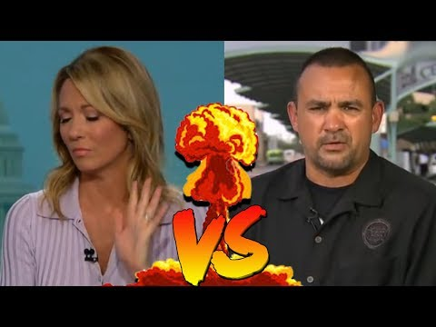 Border Patrol Agent Educates CNN Host With Facts