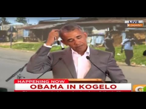 Barack Obama: I'm 'the First Sitting American President to Come From Kenya'