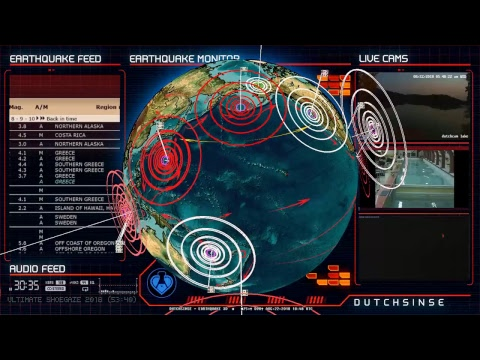 8/22/2018 -- Large M6.2 Earthquake strikes West Coast USA / Oregon -- Seismic Unrest Spreading