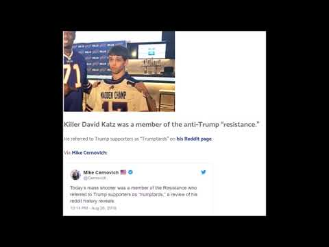 "Madden Shooter David Katz was part of ""Anti-Trump Resistance"" called other gamers TrumpTards"