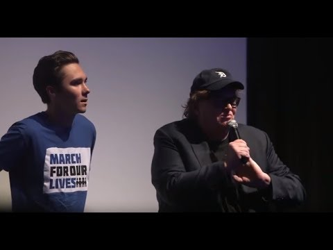 How many armed security guards does Michael Moore have? I'm guessing it's way more than the number of times David Hogg ever got laid... just a hunch
