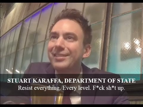 "Deep State Unmasked: State Dept on Hidden Cam ""Resist Everything"" ""I Have Nothing to Lose"""