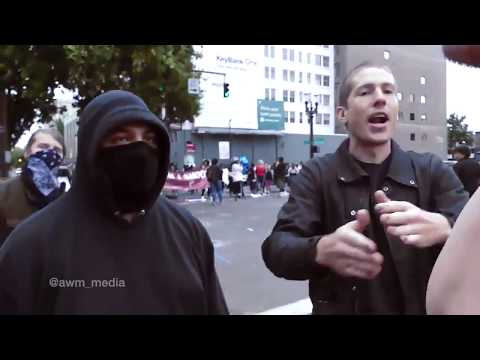 Don't Shoot Portland and ANTIFA lashing out
