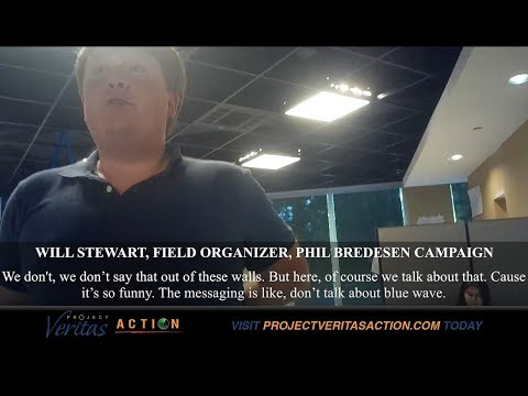 NEW Project VERITAS - TENNESSEE SENATE: Phil Bredesen's Staff Says He Is Lying About Kavanaugh Vote in Undercover Video.