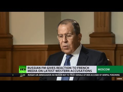 'If West expects to put Russia out of balance, they haven't read right history books' – Lavrov