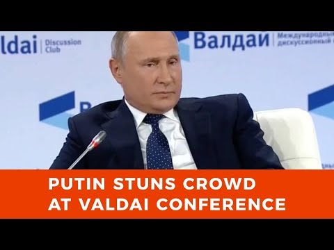 Putin stuns crowd: '700 hostages captured by ISIS in Syria including US and European citizens'
