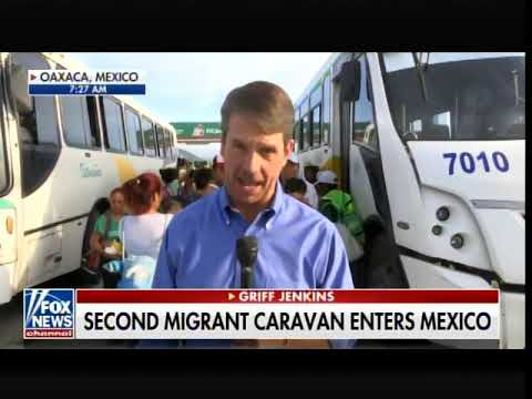 FOX News Reporter Reveals Organized Bus Operation Loading Illegal Immigrants for Rides in Mexico