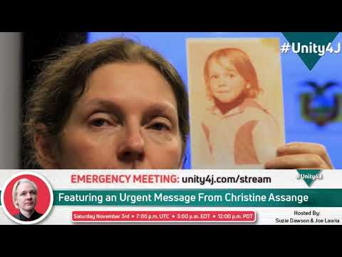 NEW: Statement from Julian Assange's mother Christine#Unity4J Exclusive: Christine Assange Makes Emergency Appeal