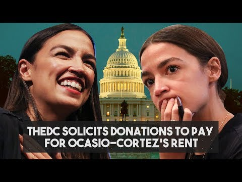 video --Students Appear Hesitant To Donate To Ocasio-Cortez's Apartment Search After Finding Out What Her Salary Will Be