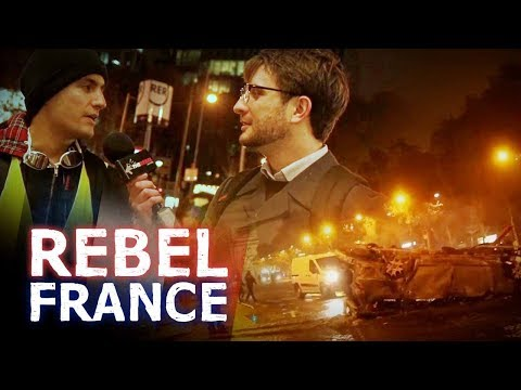 Why We Wear Yellow Vests: Paris Protester | Jack Buckby