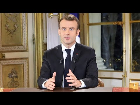 French President Macron addresses nation amid violent protests