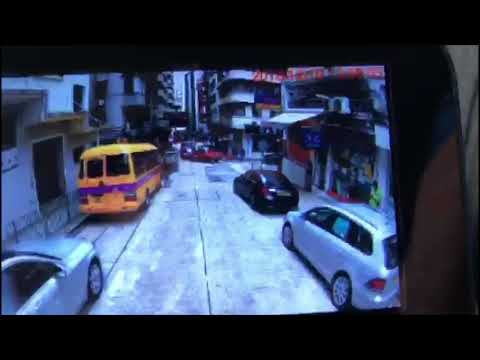 Hong Kong] Vacant light school bus rolls downhill after being parked, runs over driver