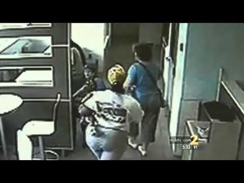 Mother of autistic children PUNCHED in the FACE by McDonalds manager
