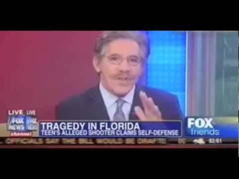 """[VIDEO] Geraldo Rivera Blames Trayvon Martin And His Parents For His Own Murder! """"Because He Was We…"""