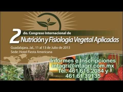 2do Congreso Internacional de Nutrición y Fisiología Vegetal