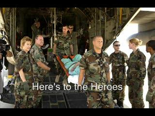 Here's to the Heroes: A Military Tribute