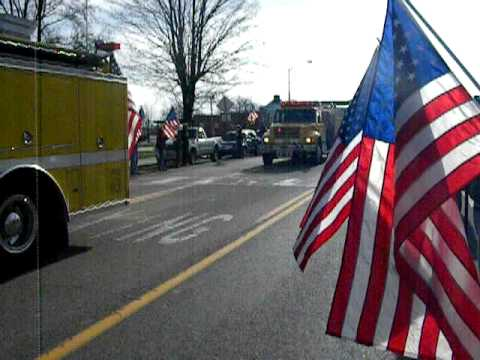 The 278th as they depart Crossville Dec. 12, 2009