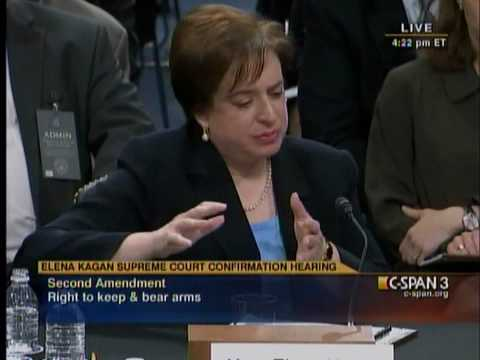 Kagan: 'No view on natural rights'