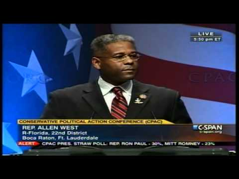 Allen West Wraps Up C.P.A.C. 2/12/2011