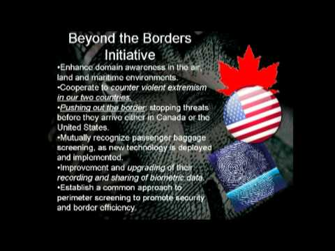 Media blackout...US border to be removed Under new agreements. North American Union has arrived.