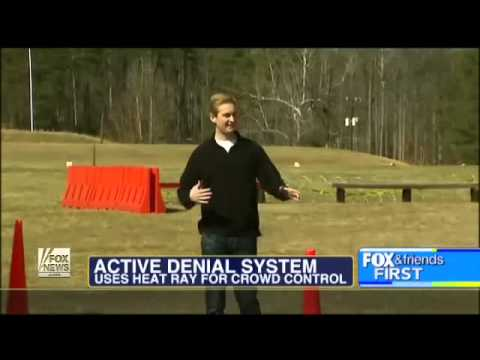 ACTIVE DENIAL SYSTEM - New Crowd Control Weapon (Do You Believe Its Really Non-leathal)