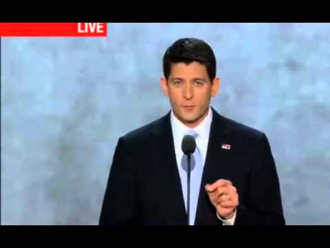Paul Ryan Speech at the Republican National Convention RNC - 2/3