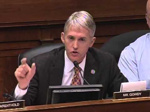 Gowdy Questions Former IRS Commissioner on Targeting of Conservative Groups