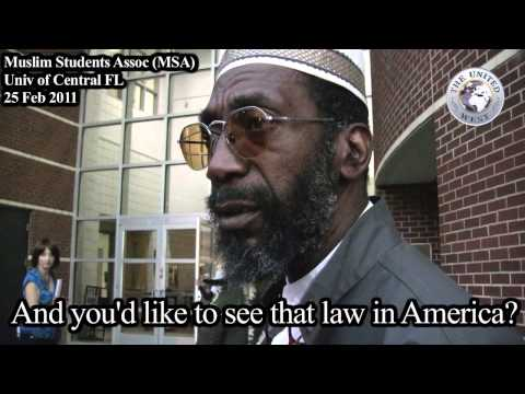 "New York Times Moderate Muslim ""Adulterers must be stoned!"""