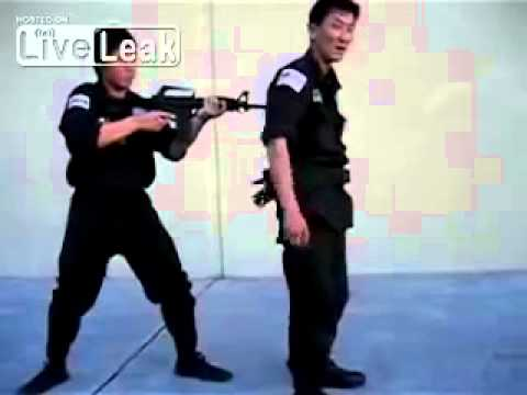 Vietnamese Guy Teaches You How To Grab Rifle From Your Captor