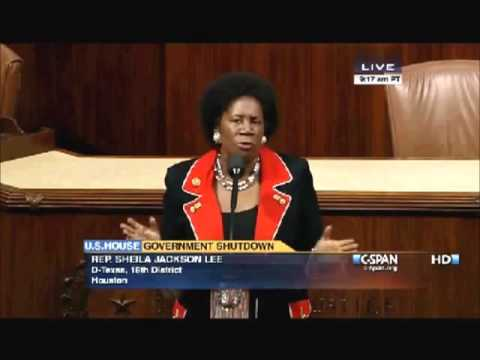 Dem Congresswoman Sheila Jackson Lee Suggests Martial Law to End Government Shutdown