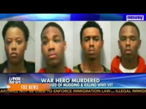 4 Black Teens Beat To Death 87-Year-Old WWII Vet In His Own Driveway