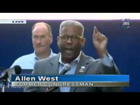 Ex-Congressman Allen West Explodes Over Iran Deal During Fiery and Emotional Times Square Speech