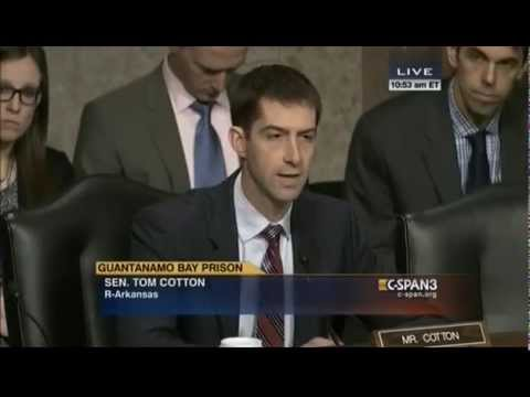 Tom Cotton Heated Over Gitmo: Only Problem There is Too Many Empty Beds, Terrorists Can Rot In Hell